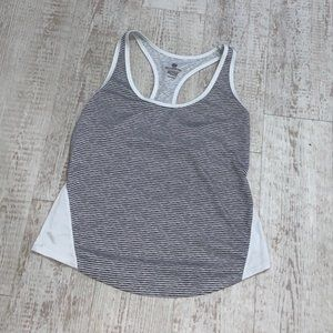 Old navy workout tank stipe top athletic